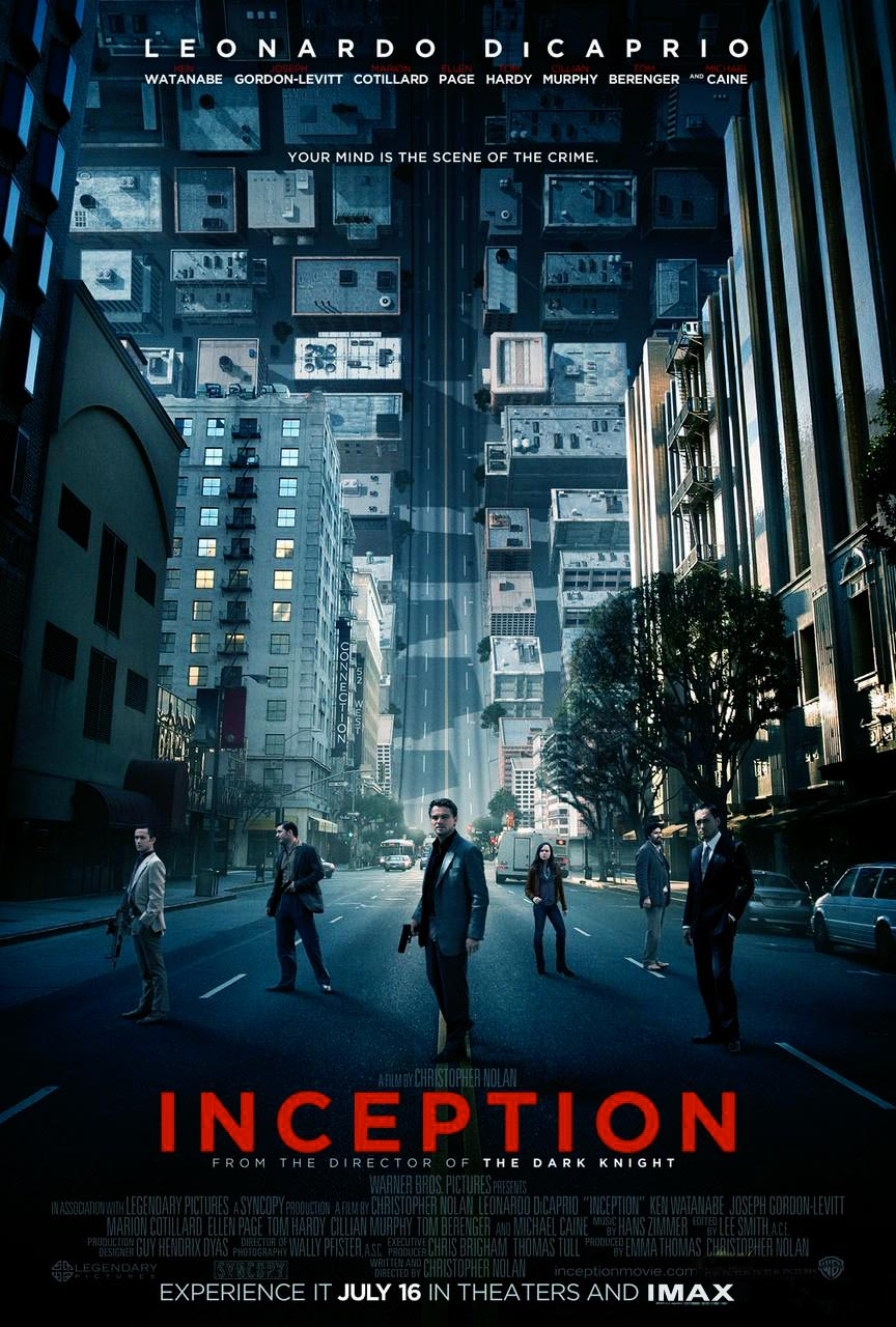 Inception Movie Poster 1 of 15  IMP Awards